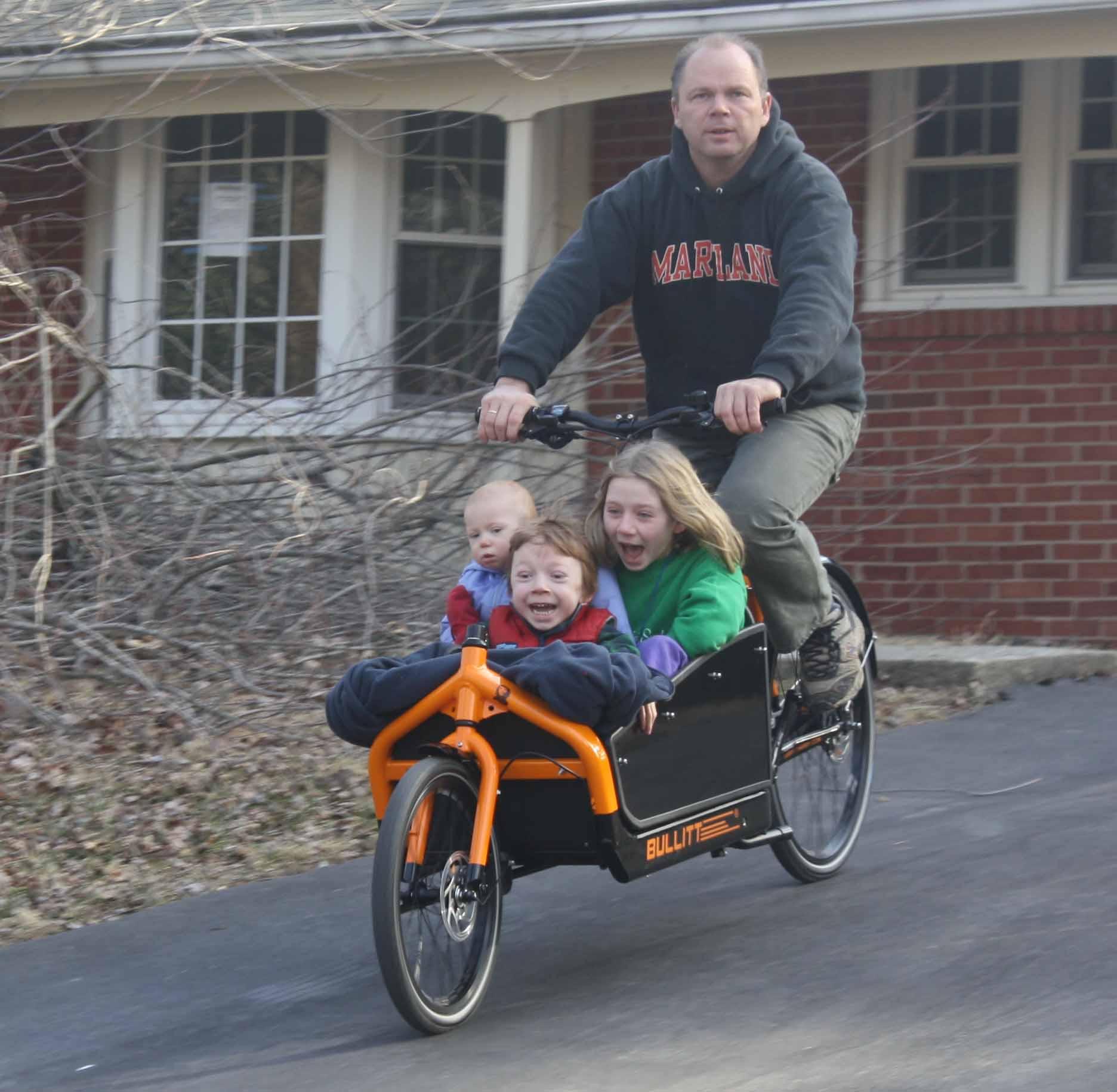 Carros de bici para llevar a los niños al cole - Página 2